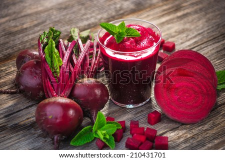Beetroot Juice   - stock photo