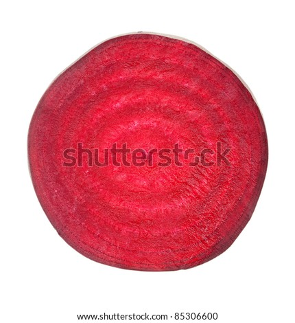 Beetroot sliced - stock photo