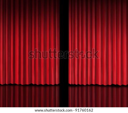 Behind The Curtain Stock Images, Royalty-Free Images & Vectors ...