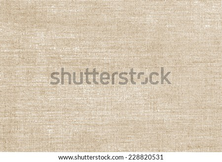 beige background with flax - stock photo