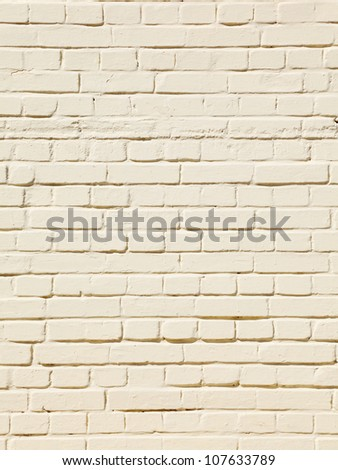 Beige Bricks Perfect for a Background - stock photo