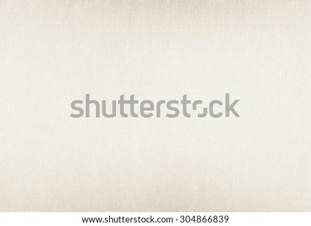 beige canvas fabric texture pattern - stock photo