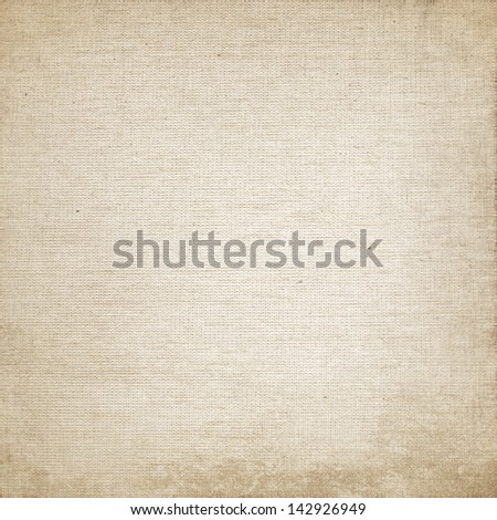 beige canvas texture background - stock photo