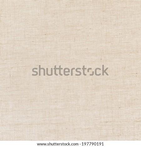beige canvas texture background - stock photo