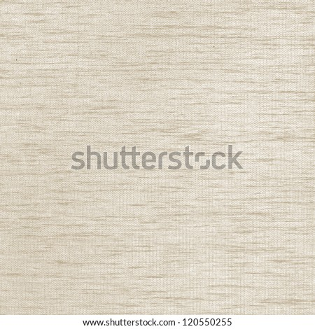 beige canvas texture background with delicate horizontal lines - stock photo