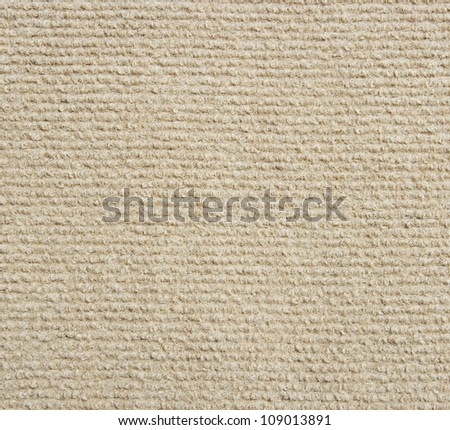 beige carpet texture - stock photo