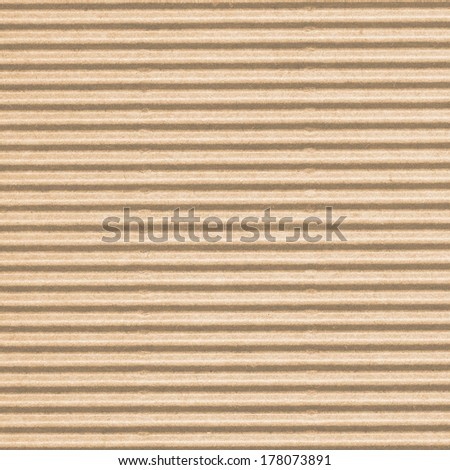 beige corrugated cardboard  - stock photo