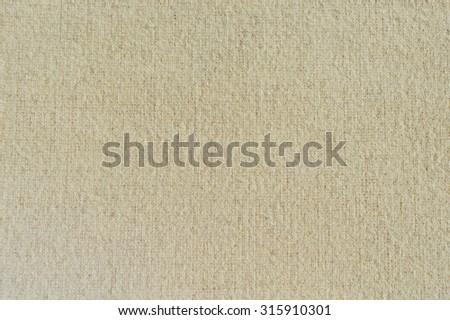 Beige fabric background - stock photo