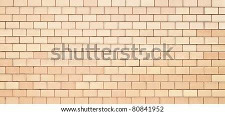 Beige floor tiles - stock photo