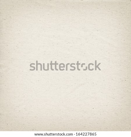 Beige linen texture background with subtle light - stock photo