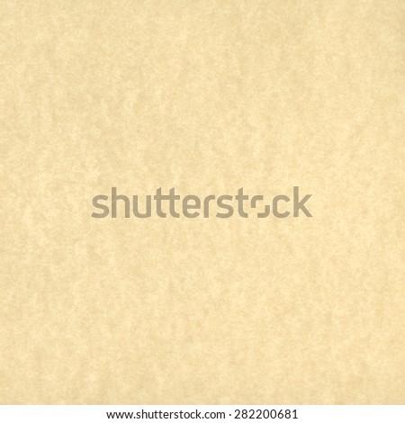 Beige Parchment Paper Background Texture - stock photo