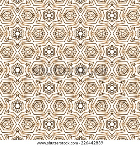 beige retro abstract pattern