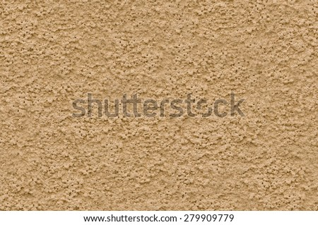 Beige stucco wall texture seamlessly tileable  - stock photo