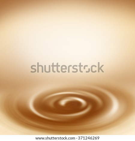 beige swirl background abstract creamy background with empty copy space  to white chocolate or milk and coffee latte design template advertising project - stock photo
