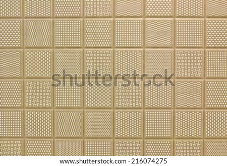 beige tile background  - stock photo