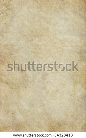 Beige Vintage Paper Background with soft texture.