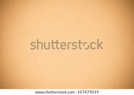 Beige wall texture for background usage - stock photo
