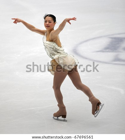 BEIJING-DEC 11: Akiko Suzuki of Japan performs in the Ladies-Free Skating event of the ISU Grand Prix of Figure Skating Final on Dec 11, 2010 in Beijing, China.