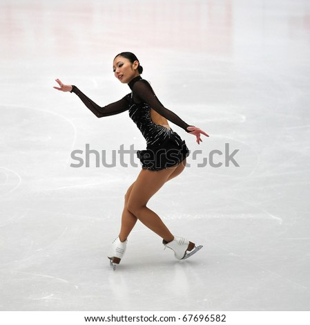 BEIJING-DEC 11: Miki Ando of Japan performs in the Ladies-Free Skating event of the ISU Grand Prix of Figure Skating Final on Dec 11, 2010 in Beijing, China.