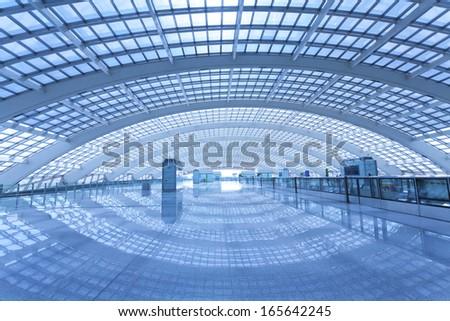 Beijing Modern Architecture - stock photo