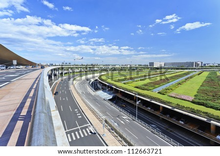 BEIJING-SEPT. 3, 2012. Expressway on Sept. 3, 2012 in Beijing. China gave green light to 60 infrastructure projects worth over $150 billion, its economy may be boosted by this, last quarter of 2012.