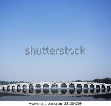 Beijing Summer Palace of China - stock photo
