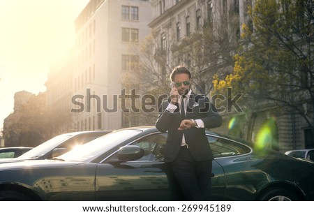 Being on time - stock photo