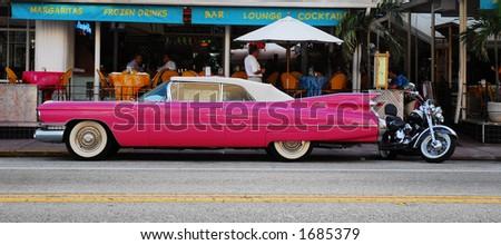 Belair Chevy - Miami - stock photo