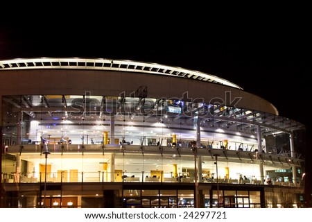 Belfast Waterfront Hall. Concert and entertainment venue in Belfast Northern Ireland - stock photo