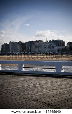 Belgian Coast - stock photo