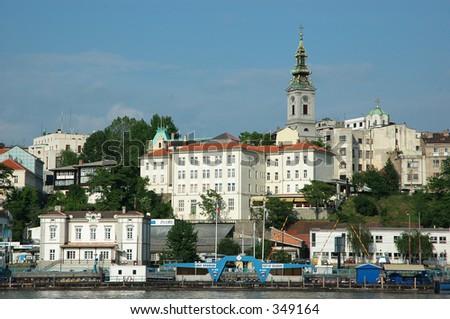 Belgrade - stock photo