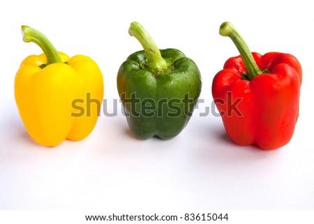bell chili - stock photo