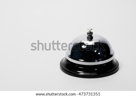 Bell on a white background
