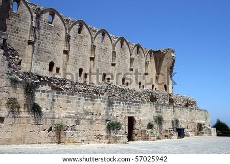 Bellapais Abbey, Cyprus - stock photo