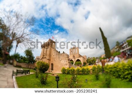 Bellapais Abbey. Kyrenia, Cyprus - stock photo