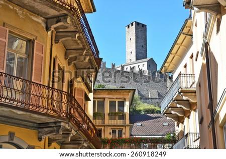 Bellinzona, Switzerland - stock photo