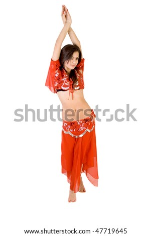 Belly dancing - stock photo