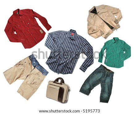 belongings - stock photo
