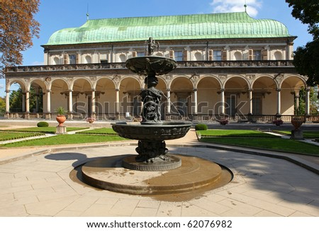Belvedere Prague, Bohemia - stock photo