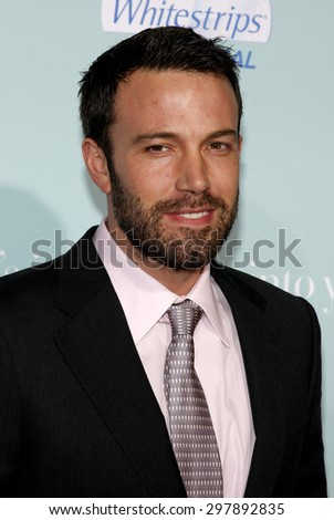Ben Affleck at the Los Angeles premiere of 'He's Just Not That Into You' held at the Grauman's Chinese Theater in Hollywood on February 2, 2009.  - stock photo