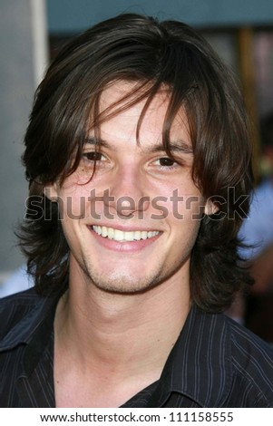 """Ben Barnes  at the world premiere of """"The Game Plan"""". El Capitan Theater, Hollywood, CA. 09-23-07 - stock photo"""