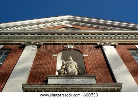 Ben Franklin Building - stock photo