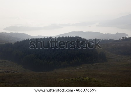 Ben Lomond, Scotland - stock photo