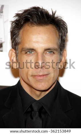 Ben Stiller at the 26th American Cinematheque Award Honoring Ben Stiller held at the Beverly Hilton Hotel in Los Angeles, California, United States on November 15, 2012.   - stock photo