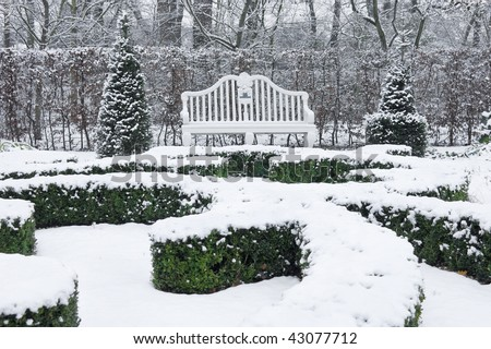 Conifer garden stock photos illustrations and vector art