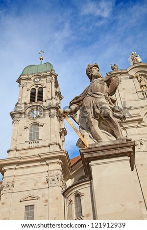 Benedictine abbey of Einsiedeln near Zurich, Switzerland