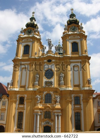 Benedictine Abby in Melk, Austria(Near Vienna)