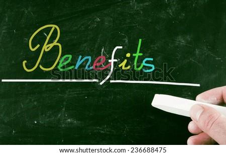 benefits - stock photo