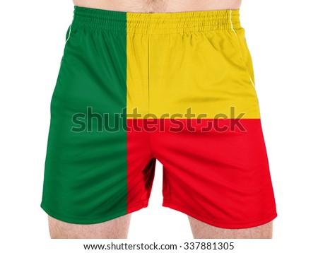 Benin. Benini flag  - stock photo