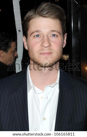 Benjamin McKenzie   at the Los Angeles Premiere of 'The Wrestler'. The Academy Of Motion Arts & Sciences, Los Angeles, CA. 12-16-08